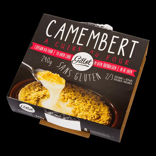Spécialités – Camembert à cuire au four sans gluten