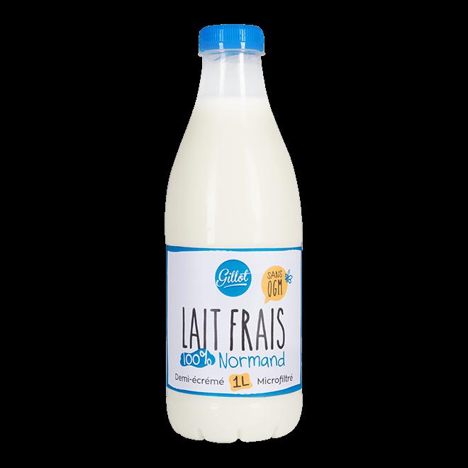 Produits Frais – Lait frais de Normandie sans OGM