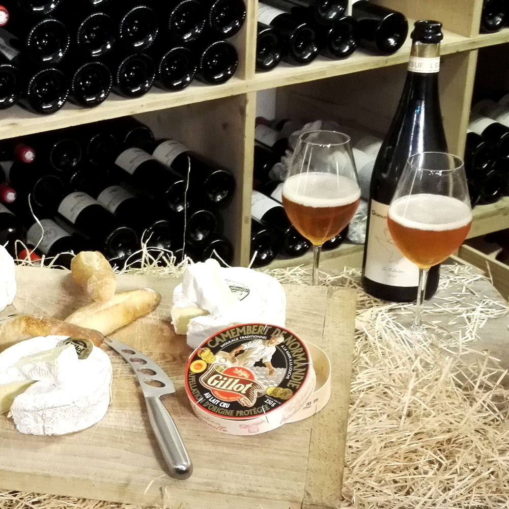 Accord met vin Camembert de Normandie Gillot