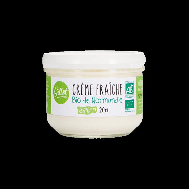 Produits Frais – Crème fraîche de Normandie bio