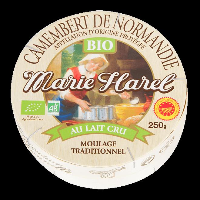 Marie-Harel – Camembert de Normandie AOP Bio