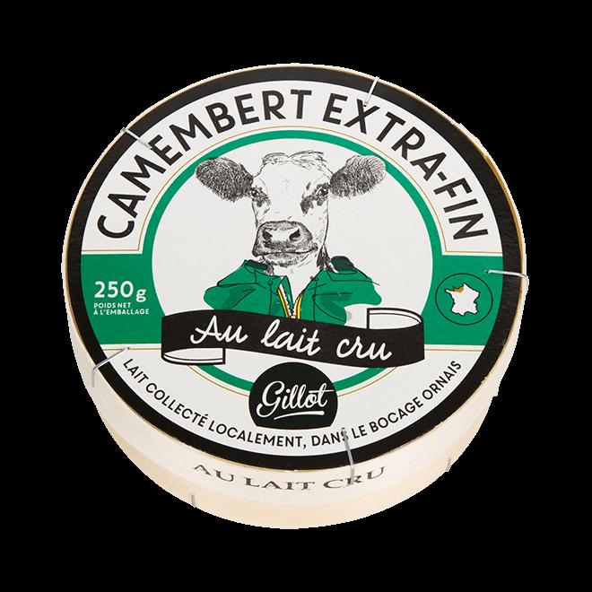Export – Camembert au lait cru