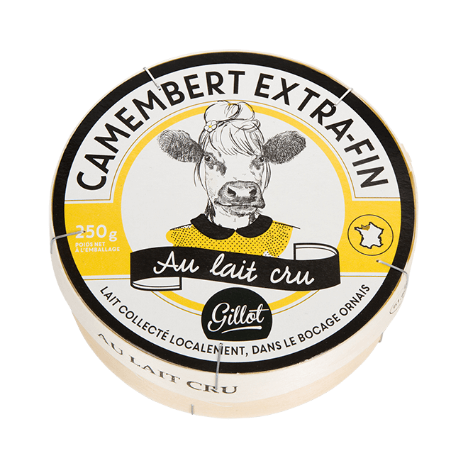 Export – Camembert au lait cru