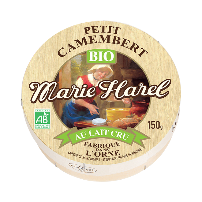 Marie-Harel – Petit Camembert au lait cru Bio