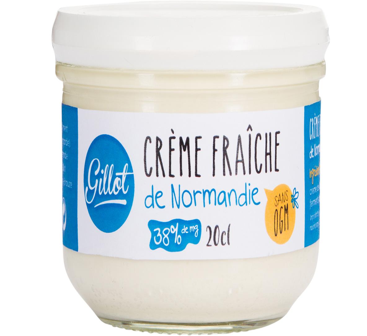 Produits Frais – Crème fraîche de Normandie sans OGM