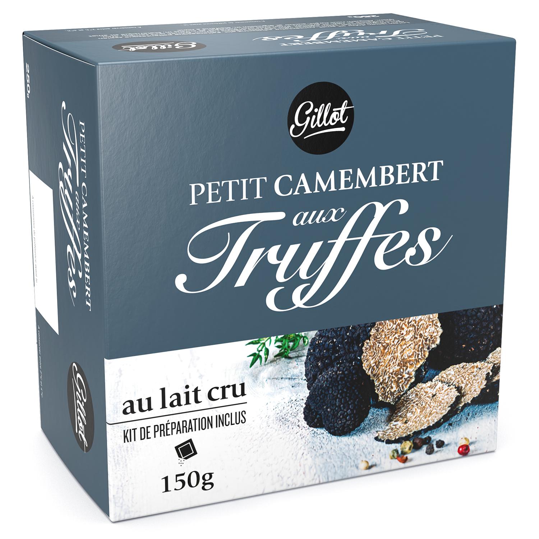 Petit camembert aux truffes